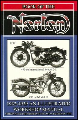 Norton Shop Manual Repair Book Motorcycle Service 18 30