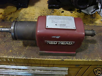 Cincinnati Milicron Red Head Spindle