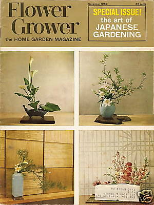 FLOWER GROWER Nov 1959 Japanese Gardening Special Issue