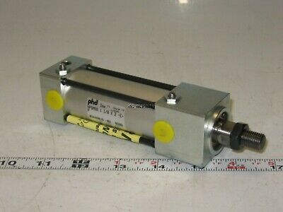 "New PHD NPGMS9 1-1/8 X 2 Pneumatic Cylinder 1.5"" Stroke"