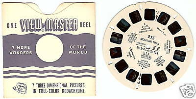 SAWYER'S View Master Reel #275 MOHAWK TRAIL MA 1950