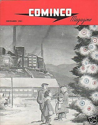 Magazine - Cominco - 12/61 Wedge Mine Trail BC (BC25)