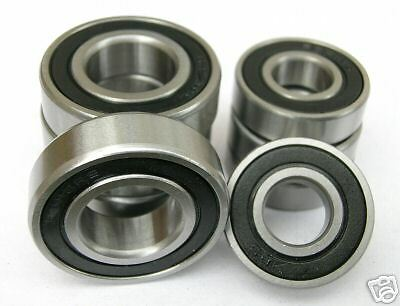 6805 25x37x7w SEALED HIGH PERFORMANCE BEARINGS 10 pack 61805 2rs