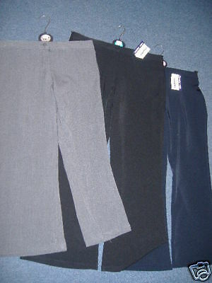 Schoolwear Girls Sturdy Fit School Trousers, Bigger Waist, New Classwear,School
