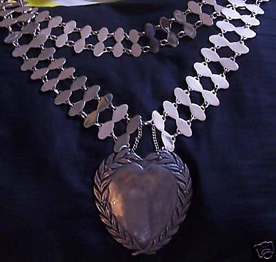 Wedding Anniversary Engagement Love Sweet Heart Gift Bling Necklace Chain US