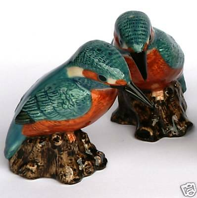 Kingfisher China Salt and Pepper pots NEW Gift Boxed