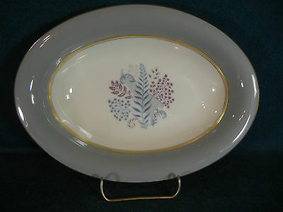 "Castleton China Fernmere Oval 10 1/8"" Vegetable Serving Bowl"