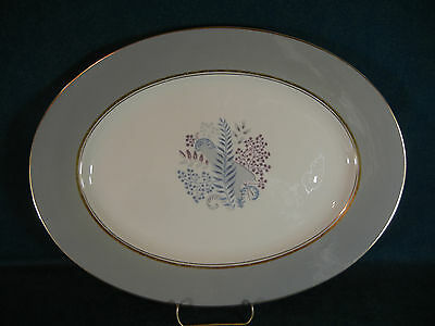 "Castleton China Fernmere Large 15 1/4"" Oval Serving Platter"