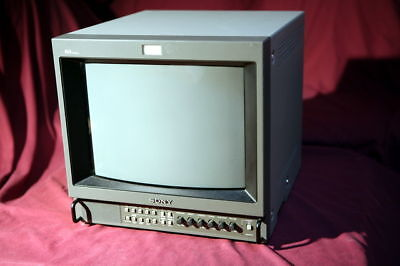 Sony Pvm-1354Q High Res Pro Monitor Video Broadcast
