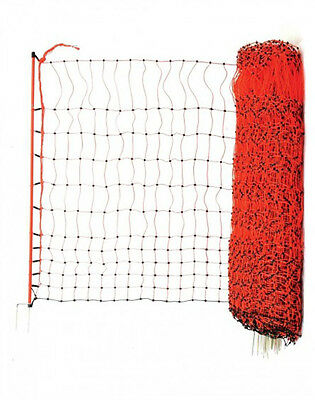 50m X 112cm POULTRY NETTING Electric Fence & Free Earth Stake***THUNDERBIRD****
