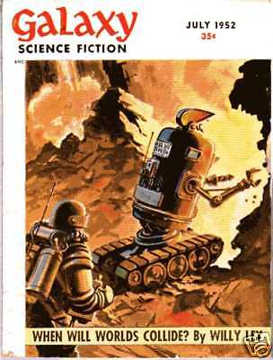 (PULP) GALAXY SCIENCE FICTION vol. 4 n° 4, 07.1952 édition originale USA
