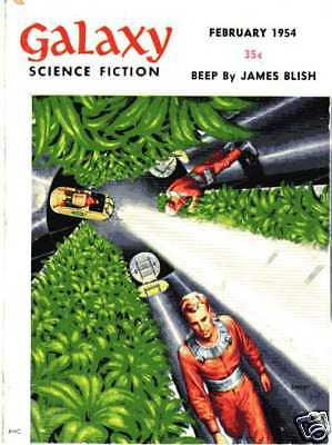 (PULP) GALAXY SCIENCE FICTION vol. 7 n° 5A, 02.1954 édition originale USA
