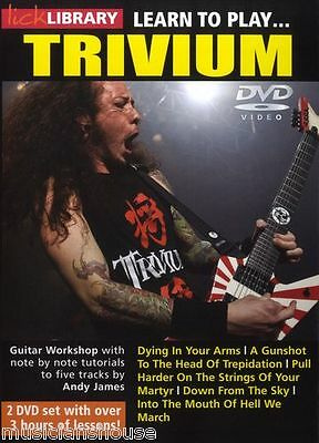 LICK LIBRARY Learn To Play TRIVIUM Dying In Your Arms METAL ROCK song GUITAR DVD