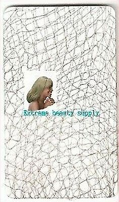 extra THIN color black HAIR net FRENCH MESH FISH woman cooking cap SNOODS 3pcs