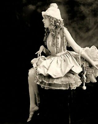MARY PICKFORD 8x10 PICTURE FANTASTIC YOUNG RARE PHOTO