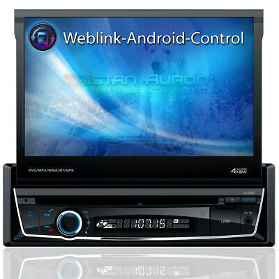 Autoradio mit Navi Navigation 7 Bluetooth Touchscreen MP3 Bildschirm USB, SD DAB