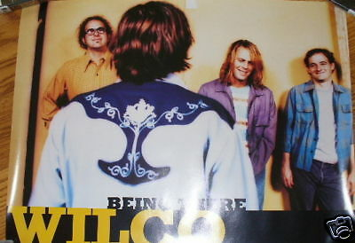 WILCO Being There promo poster 18x24