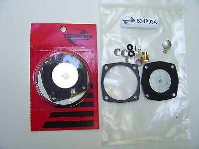 Toro / Tecumseh Carb Re-Build Kit For S200,s620-631893A :