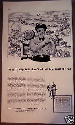 1942 Revere Copper and Brass Helping the War Effort Ad