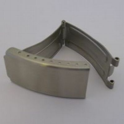 Replacement Centre Clasp For Metal Watch Strap 16mm Chrome