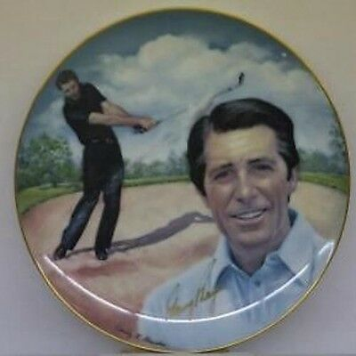 Gary Player Autographed Hackett American Plate