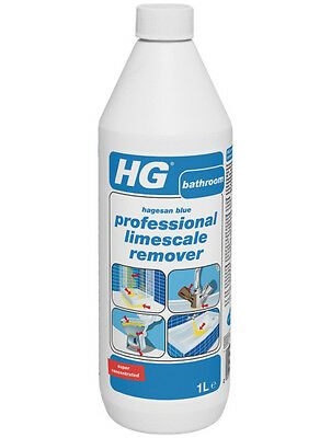 HG Blue Professional Limescale Remover 1 Litre Super-Concentrated Super Powerful