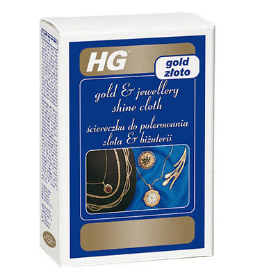 HG Gold and Jewellery Shine Cleaning Polishing Cloth