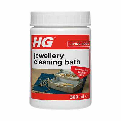 HG Jewellery Gold and Silver Cleaning Bath Dip 300ml Cleaning Dip for Jewellery
