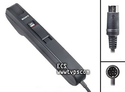 Demo SONY HU-25 HU25 Handheld Microphone Dictation