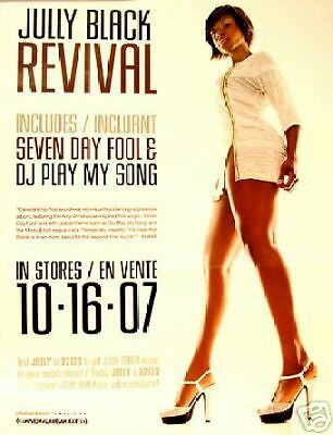 Jully Black - Revival pre-release POSTER 24X18 mint