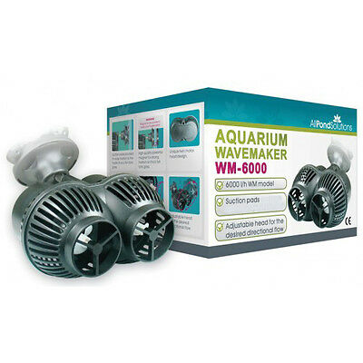 Aquarium Marine Wavemaker / Circulation Fish Tank Pump Dual 6000L/H Powerhead