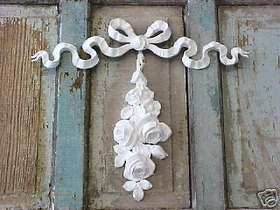 SHABBY N CHIC BOW/DROP~FRENCH* Appliques Furniture