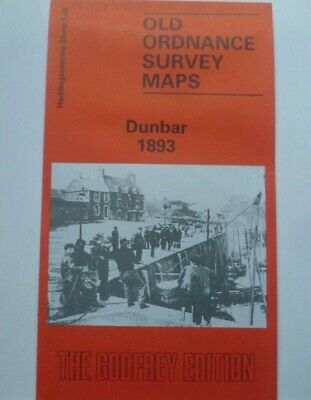 Old Ordnance Survey Maps  Dunbar Scotland  1893 Godfrey Edition