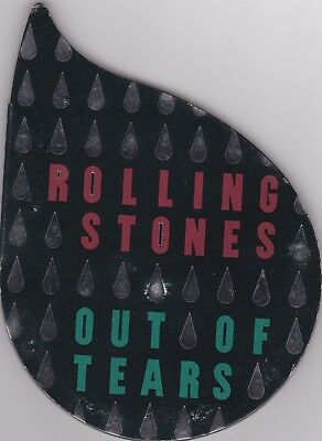 Rolling Stones  # Out of tears #  shaped tear CD SINGLE USATO Ex/Ex