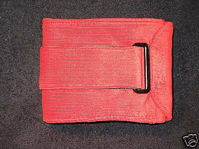 1 ULTIMATE Dog Belly Band Diaper XS 11 15 x 4 Red Cord Reusable