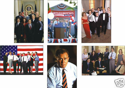 The West Wing 6 Card POSTCARD Set