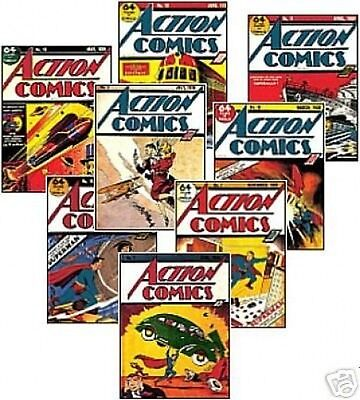 Superman Comic Book Cover Trading Card Set
