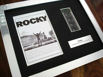 Rocky Balboa Sylvester Stallone Framed Original 35Mm Film Cell