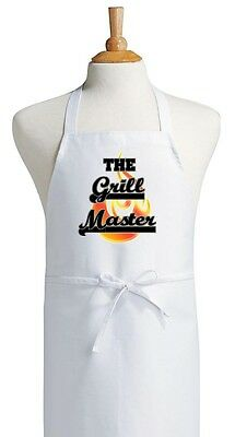 BBQ Chef Apron The Grill Master Novelty Barbecue Aprons by CoolAprons
