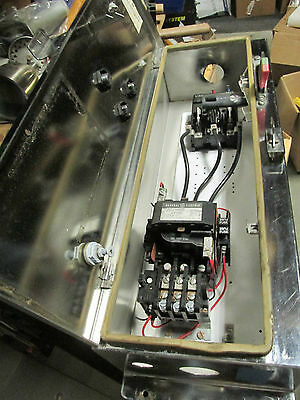 GE Magnetic SS Starter Combination CR308D4**AAAA  ...  SS-11