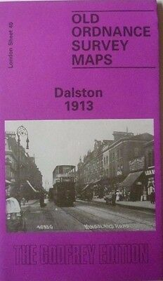 Old Ordnance Survey Map Dalston near Hackney London  1913 Sheet 40 Brand New
