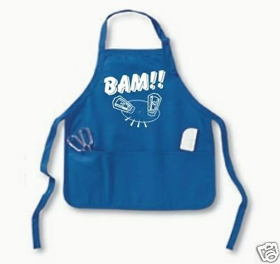 Emeril BAM Apron with POUCH POCKET