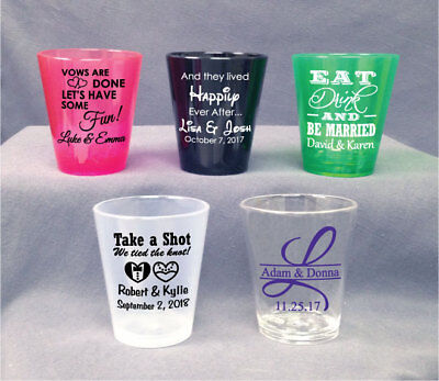 50 PERSONALIZED Wedding Party Bridal Shower FAVORS LOT