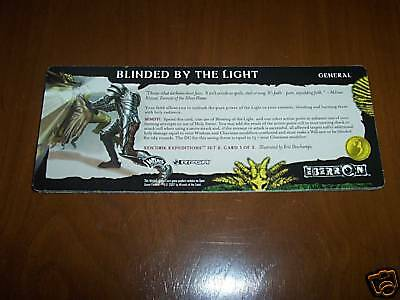 RPGA: d20 Campaign Card - Eberron: BLINDED BY THE LIGHT
