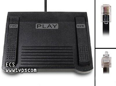 ECS 1028 Heavy Duty Lanier Compatible Foot Pedal