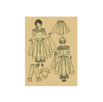 "22"" Antique  Doll Clothing Pattern  #1921"