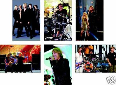 Def Leppard Supergroup 6 Card POSTCARD Set