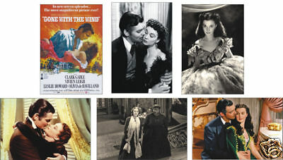 Gone with the Wind Clark Gable POSTCARD Set