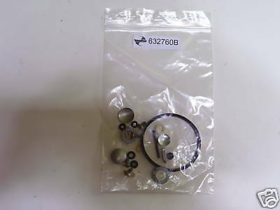 (5)-Genuine Tecumseh Carb Kit # 632760B Float Type Kit :