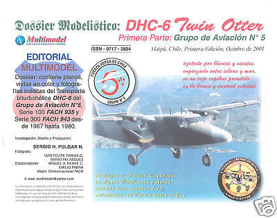 Monograph - Chile Chilean Air Force Twin Otter (MN2)